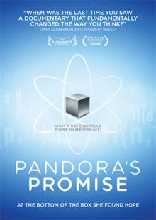 Pandora's Promise: Available on DVD, iTunes and Netflix